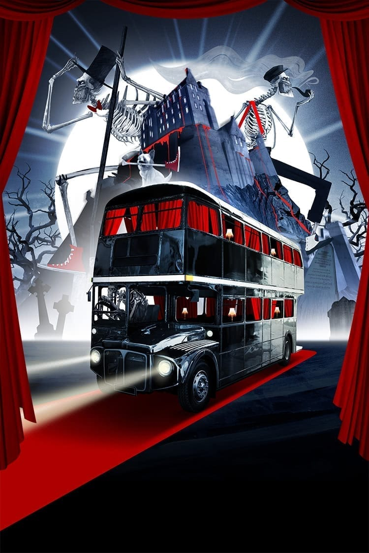 Edinburgh The Ghost Bus Tours Comedy Horror Sightseeing Tours