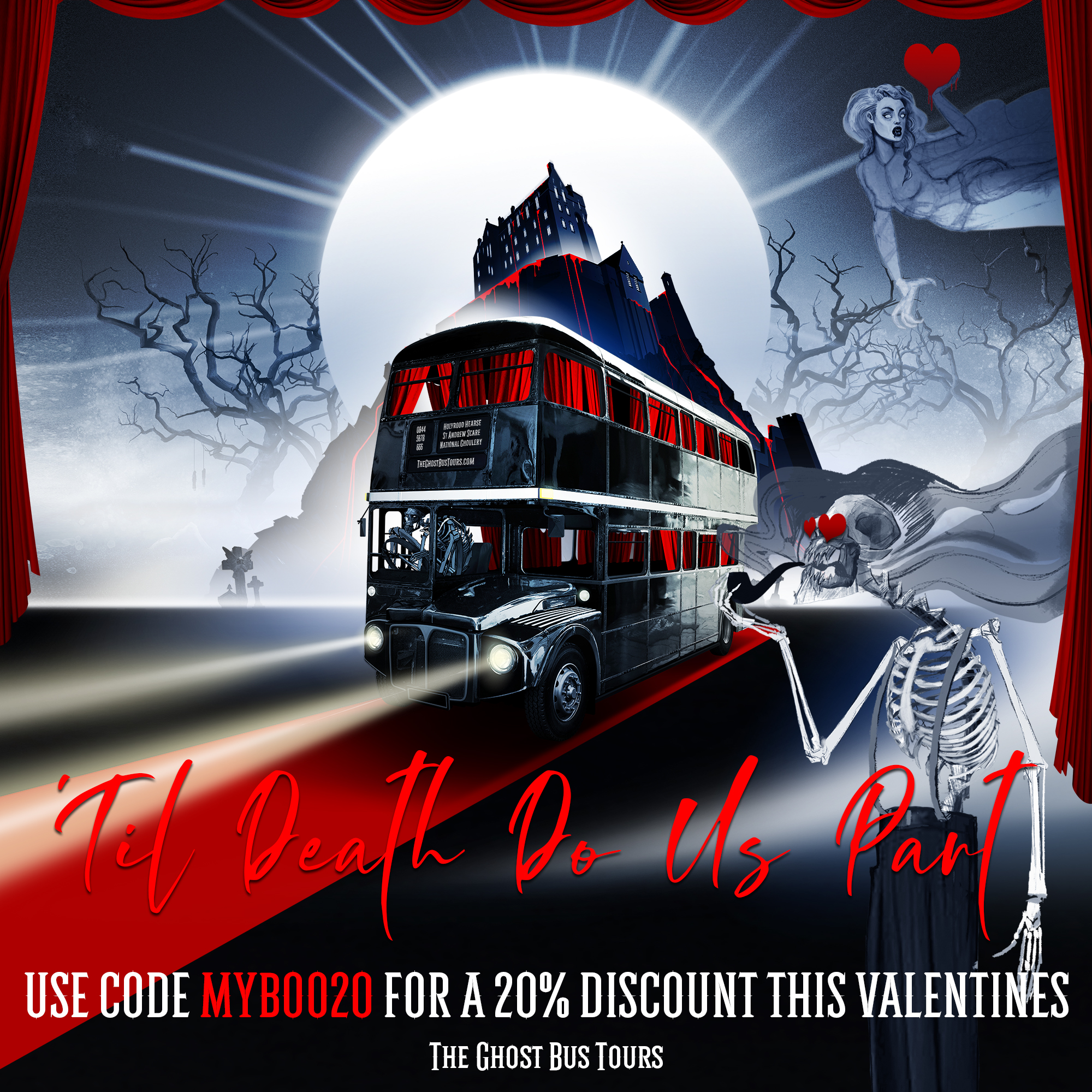 Special Offers The Ghost Bus Tours Comedy Horror